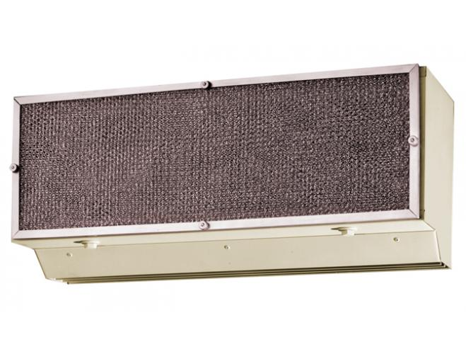 Drive thru window air curtain marley engineered products